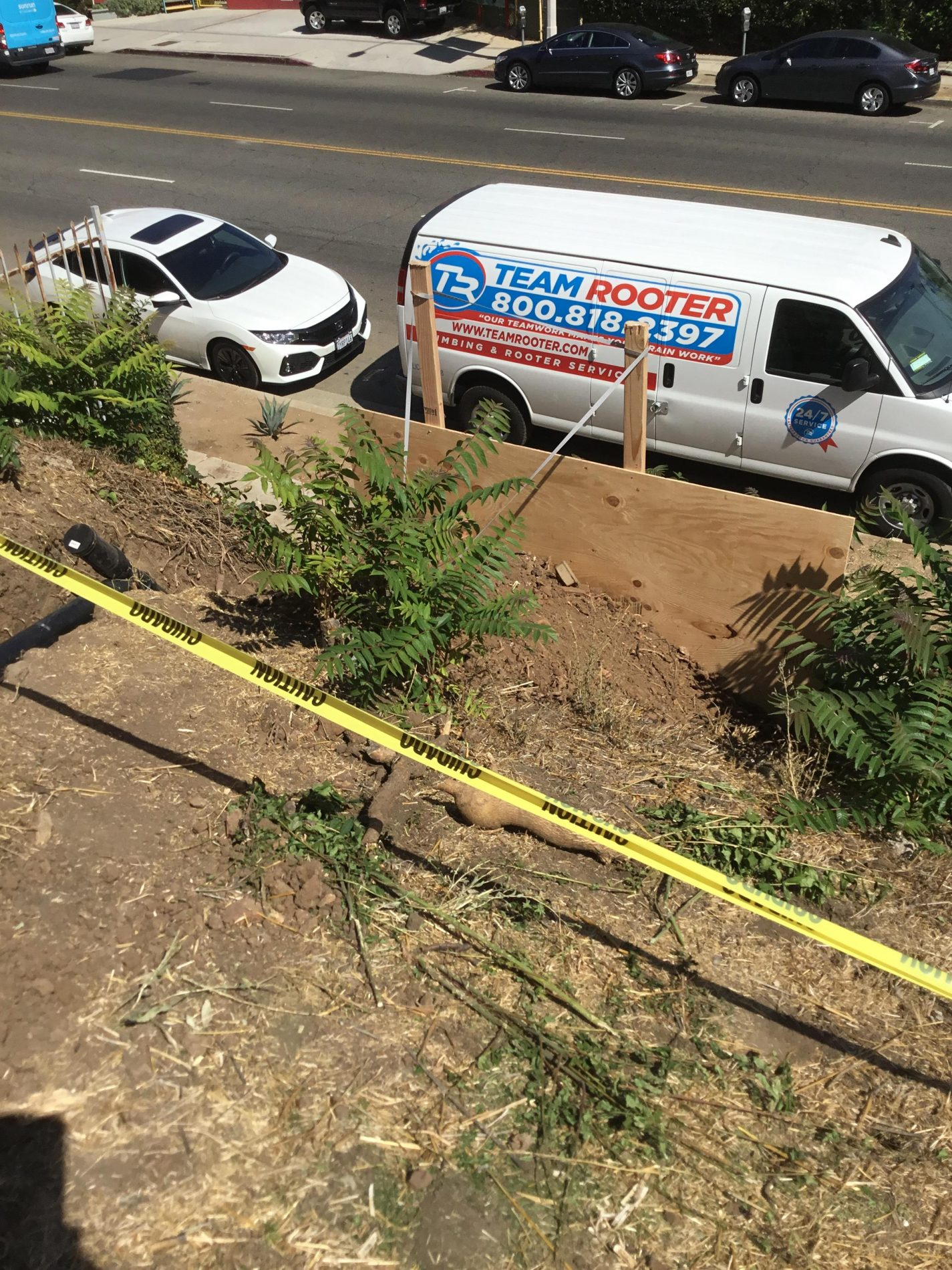 Trenchless Sewer Line Replacement In Los Feliz / Silverlake