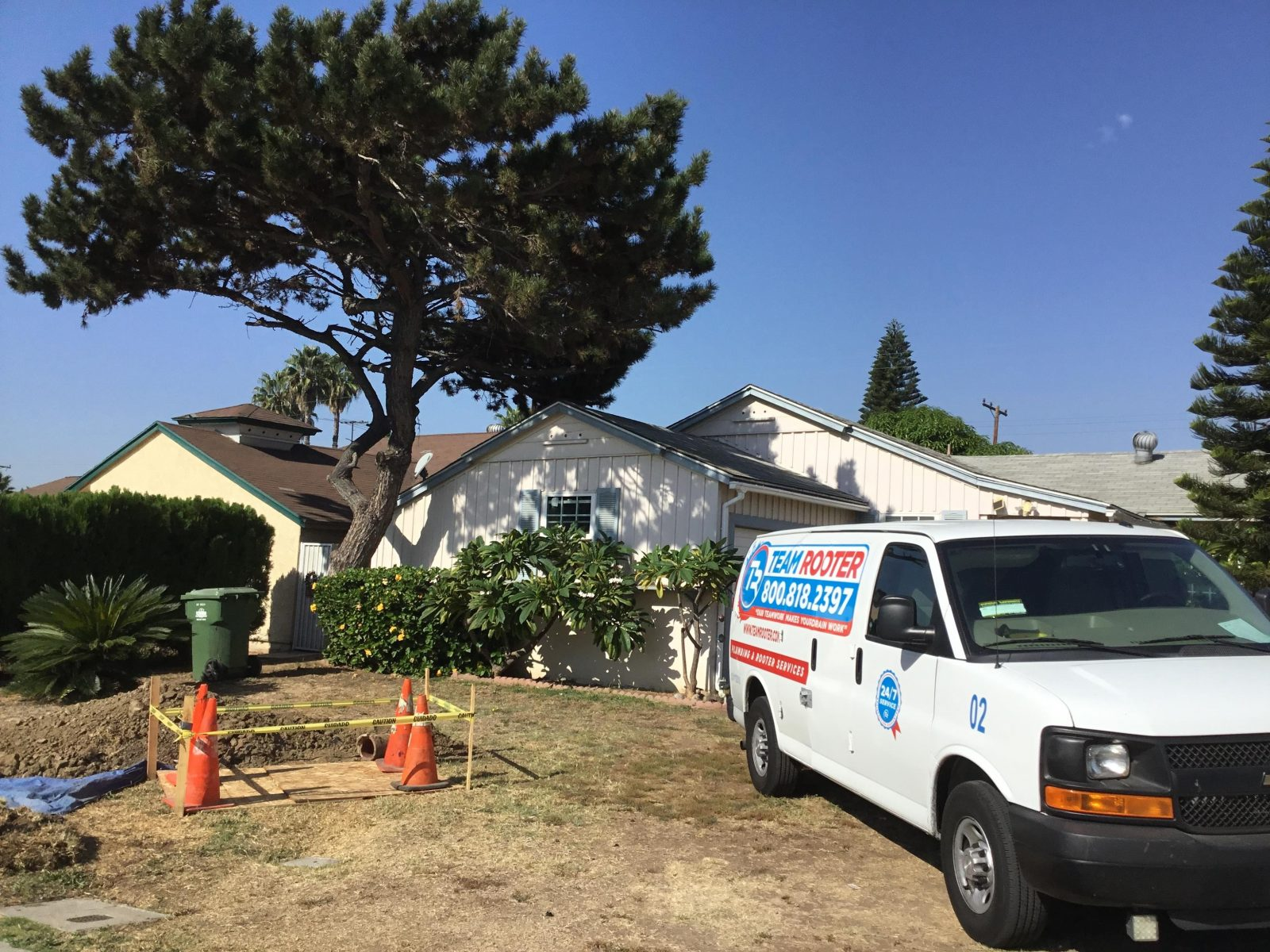 Trenchless Sewer Replacement In Whittier, CA