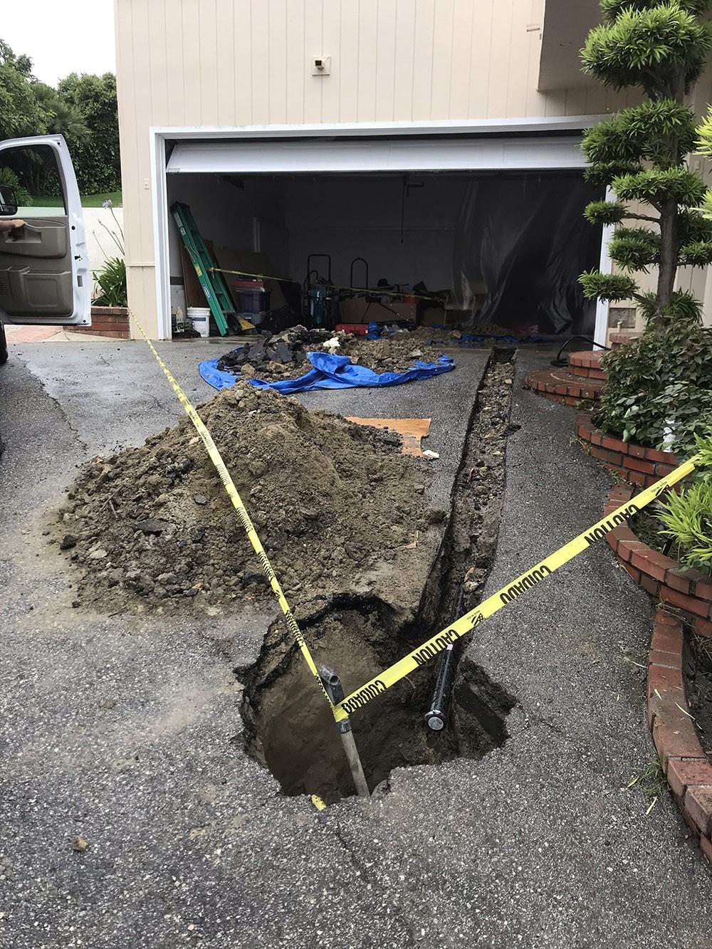 clogged sink in Rancho Palos Verdes